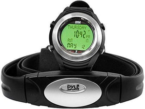 Pyle Sports Phrm20 Marathon Heart Rate Watch With Usb
