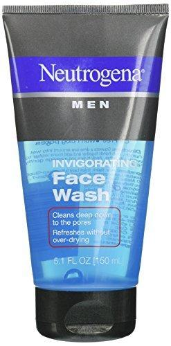 Neutrogena Men Invigorating Face Wash-5.1 Oz (Pack Of 4)