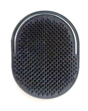 American Palm Pocket Shampoo Brush Color: Black