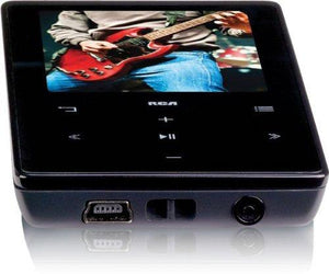 Rca 4Gb Video Mp3 Player With 2-Inch Display - Black