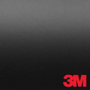 3M 1080 M12 MATTE BLACK 5ft x 1ft (5 Sq/ft) Car Wrap Vinyl Film