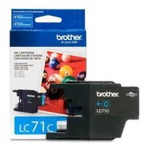 Brother Printer Lc71C Standard Yield Cyan Ink