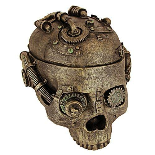 Design Toscano Steampunk Skull Containment Vessel