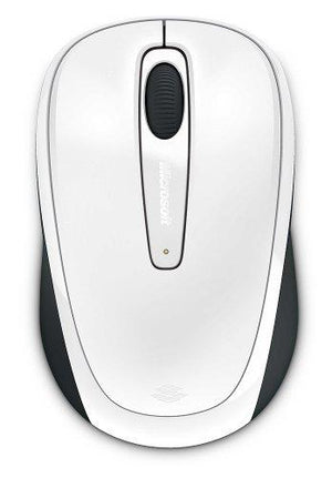 Microsoft Wireless Mobile Mouse 3500 - White Gloss