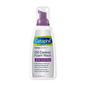Cetaphil Dermacontrol Foam Wash, 8 Fluid Ounce