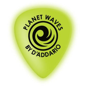 Planet Waves Cellu-Glow Guitar Picks, Extra-Heavy, 10 Pack
