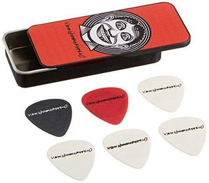 Jim Dunlop John Vanhanersvelt Johnny Face Pick Tin With 6 Picks Medium