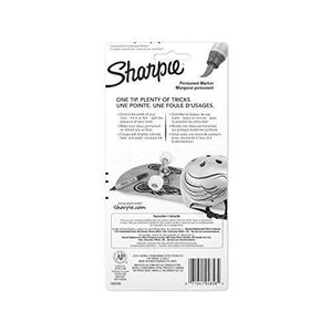 Sharpie 1810701 Brush Tip Permanent Marker, Assorted Colors, 4-Pack