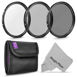 Altura Photo 62Mm Professional Photography Filter Kit (Uv Cpl Polarizer Neutral Density Nd4)