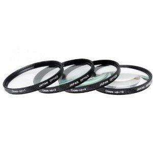 Big Mike'S 77Mm CloseUp Filter Set(+1 +2 +4 And +10 Diopters)Magnification Kit For Canon Digital Eos