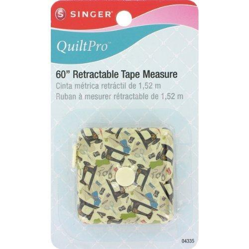 Singer 60-Inch Decorative Retractable Tape Measure
