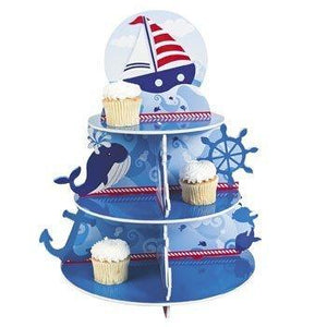 Fun Express Nautical Sailor Cupcake Holder Stand