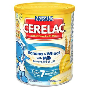 Nestle Cerelac - Banana And Wheat With Milk - 14.11 Ounce Can