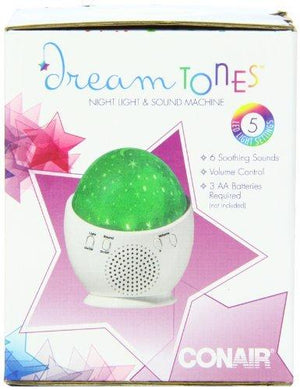 Conair Dream Tones Night Light And Sound Machine