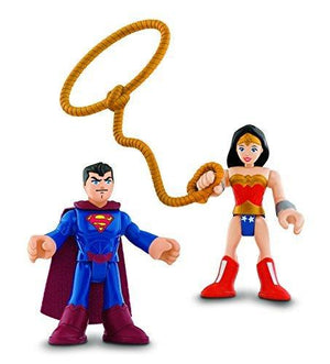 Fisher Price Imaginext Dc Super Friends Superman And Wonder Woman