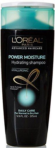 L'Oreal Paris Power Moisture Hydrating Shampoo 12.6 Fl Oz