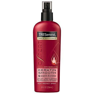 Tresemme Expert Selection Heat Protection Spray, Keratin Smooth, 8 oz