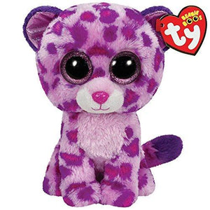 Ty Beanie Boos Glamour Leopard Plush/Pink