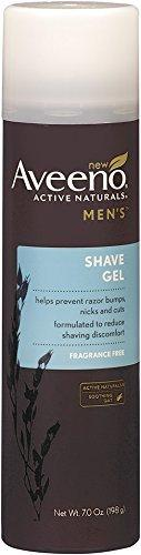 Aveeno Active Naturals Mens Shave Gel 7 Fl Oz