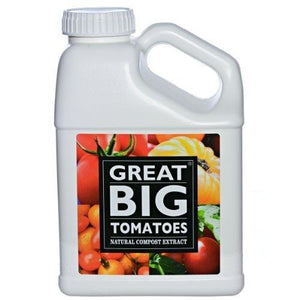 Great Big Plants Tomatoes Natural Compost Extract, Concentrate, 1-Gallon