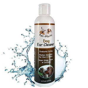 Pet-Plicity Ear Cleaner For Dogs 8 Fl Oz