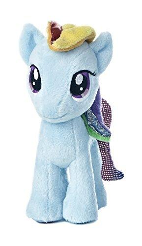 Aurora World My Little Pony Rainbow Dash Pony Plush, 8-5/8""
