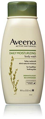 Aveeno Active Naturals Daily Moisturizing Body Wash 18 Fl Oz (Pack Of 3)