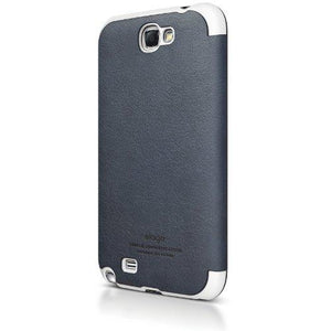 elago G6 Leather Flip Case for Galaxy Note 2 (Jean Indigo)