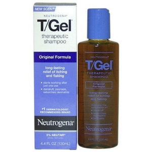 Neutrogena T/Gel Shampoo  4.4 Oz Pack Of 2
