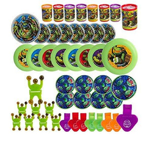 Amscan Teenage Mutant Ninja Turtle Mega Mix Favor Pack (48) Pieces Birthday Party