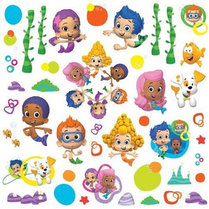 Roommates Rmk2404Scs Bubble Guppies Peel And Stick Wall Decals - 1-Pack