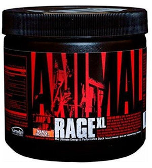 Universal Nutrition Animal Rage Xl Pre Workout Ultimate Energy- Mango Unchained 30 Servings
