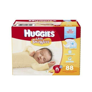 Huggies Little Snugglers Diapers - Newborn - 88 Count Packaging May Vary