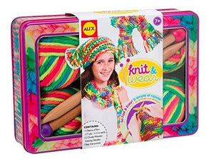 Alex Toys Do-It-Yourself Wear Knit And Wear Craft Kit