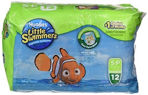 Huggies Little Swimmers Diapers Small 12 Ct