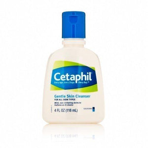 Cetaphil Gentle Skin Cleanser For All Skin Types Pack Of 2 - 4 F Oz