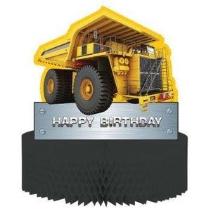 Creative Converting Construction Zone Birthday Centerpiece