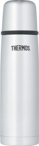 Thermos Vacuum Insulated 16 Ounce Compact Beverage Bottle - Stainless Steel