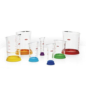 Oxo Good Grips 7-Piece Nesting Measuring Beaker Set - Multicolored