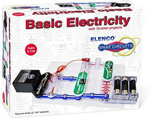 Elenco Electronics Snap Circuits(R) Basic Electricity Kit