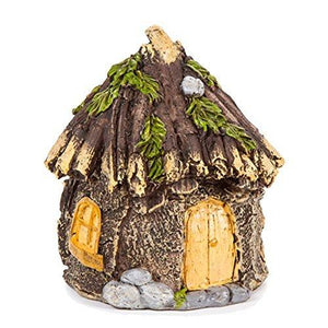 Darice Miniature Enchanted Cottage Gnome Hobbit Fairy (Shabby House)