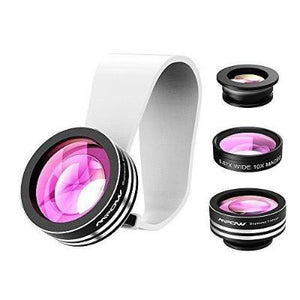 Mpow 3 In 1 Clip-On 180 Degree Supreme Fisheye For Iphone