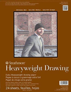 Strathmore Str-400-211 No.100 Heavyweight Drawing Pad, 11 By 14""