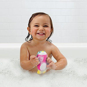 Munchkin Wind Up Swimming Penguin Bath Toy - Pink