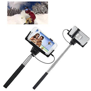 Getwow Pole-D09 Plus Self Portrait Remote Camera Shooting Shutter Monopod - Black
