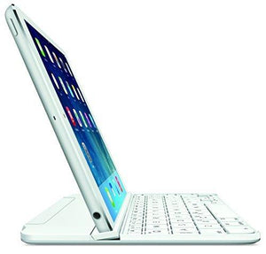 Logitech Ultrathin Magnetic Clip-On Keyboard Cover For Ipad Mini & Mini - Silver