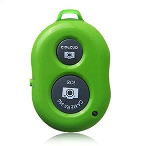 Oumers Bluetooth Wireless Remote Control Camera Photo Shutter Release - Green