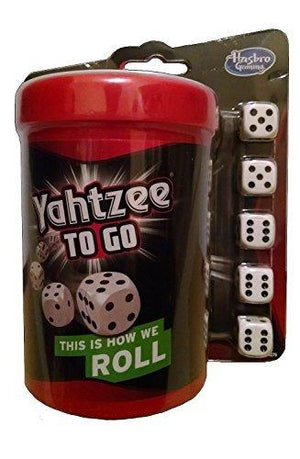 Hasbro Yahtzee To Go Travel Game 2014 By Hasbro Gaming