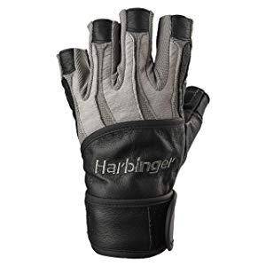 Harbinger Men's BioForm WristWrap Weightlifting Glove (Pair) X-Large (Fits 8.5 - 9.5 Inches)