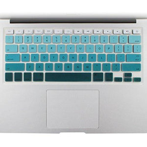 "All-Inside Green Ombre Color Keyboard Skin For Macbook Pro 13"" 15"" 17"" (With Or Without Retina Display) / Macboook Air 13"""